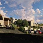 Apartotel en Linares Proaza Asturias exterior proyecto de Dolmen Arquitectos