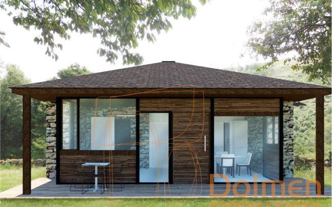 Casa rural en Pasadía Villayón Asturias alzado norte reformada