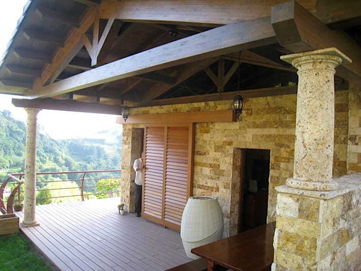 Chale con terraza en Siero Asturias