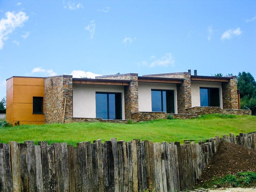 Construcci n de vivienda unifamiliar en castiello gij n - Arquitectos en gijon ...