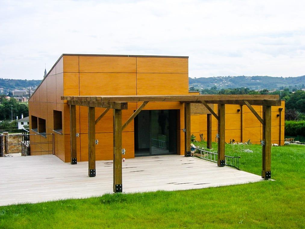 Chalé en Castiello Gijón del estudio de arquitectura Dolmen Arquitectos