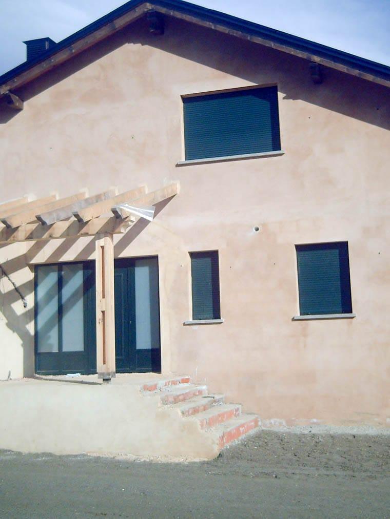 Construcción de chalé en Cobreros Zamora obra de Dolmen Arquitectos