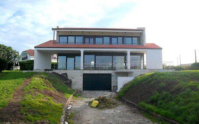 Construccion de chale en Villaviciosa Asturias por Dolmen Arquitectos