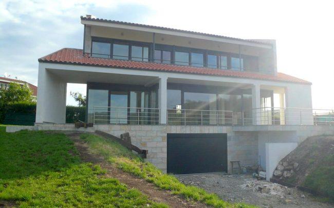 Construccion de chale en Villaviciosa por el estudio Dolmen Arquitectos