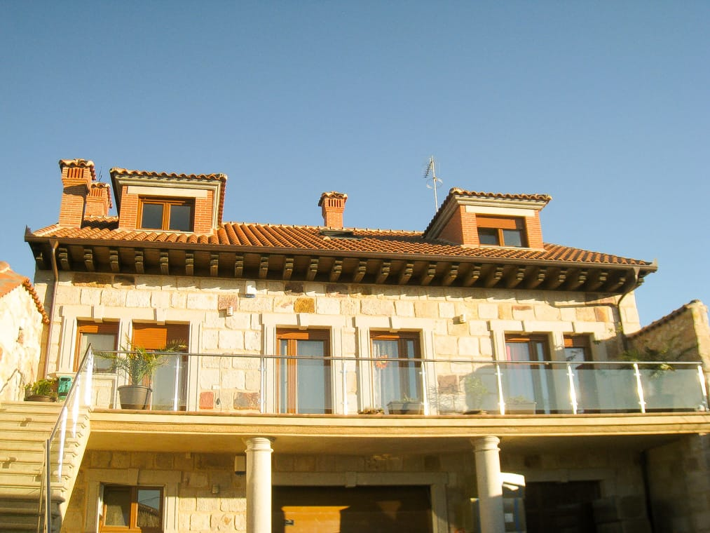 Diseño de chale San Frontis en Zamora