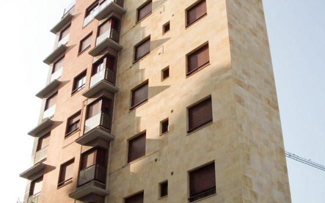 Diseño de un edificio de viviendas en Oviedo Asturias por Dolmen Arquitectos de Gijón