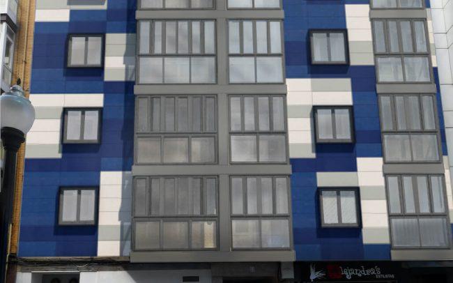 Dolmen Arquitectos expertos en rehabilitación fachadas Asturias Canga Argüelles Gijón 5