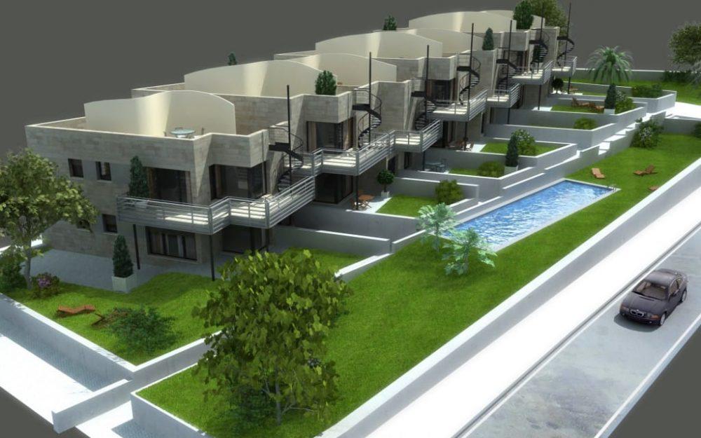 Edificio de viviendas en Mogro Cantabria diseño de arquitecto de Asturias Dolmen Arquiectos Gijón