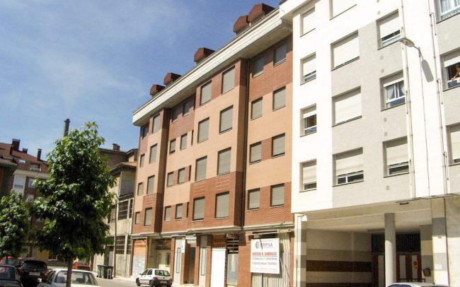 Edificio de viviendas en La Felguera Langreo Asturias