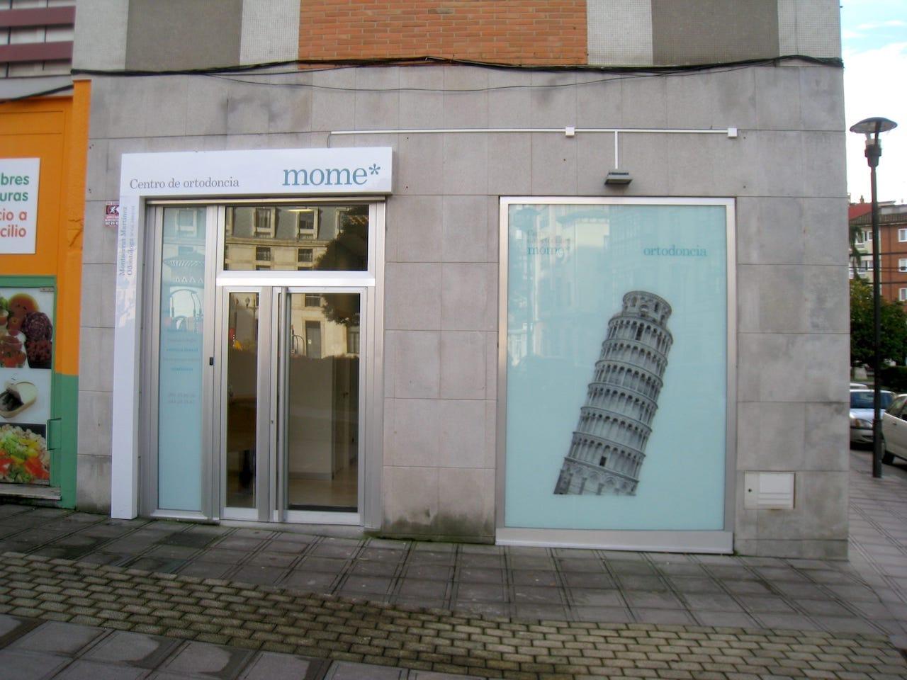 Fachada centro de ortodoncia en Asturias Siero