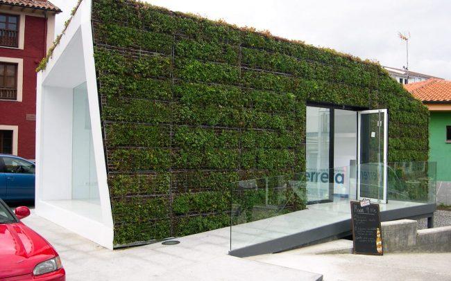 Oficina turística de Colombres Asturias diseño de Dolmen Arquitectos