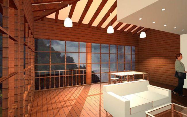 Proyecto de reforma de una casa en Tablao Asturias