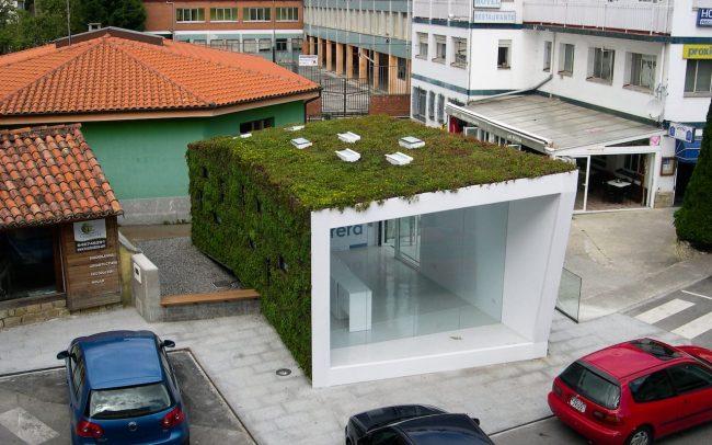Punto de información turística de Colombres Asturias obra de Dolmen Arquitectos