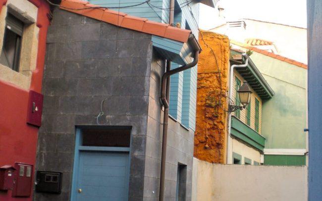Reforma de casa entre medianeras en Cimadevilla Gijón