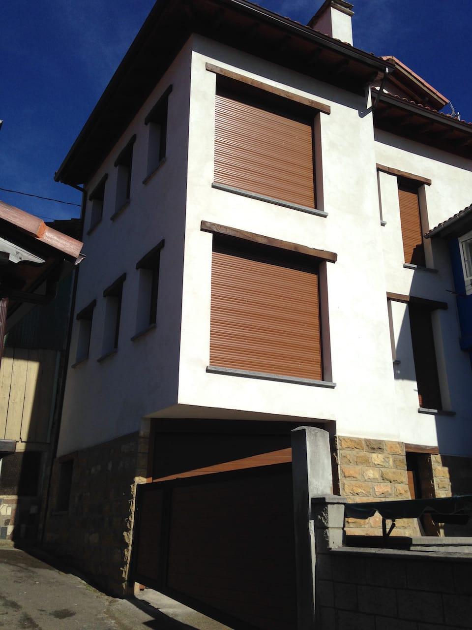Reforma de casa tradicional en el pueblo de Mieres