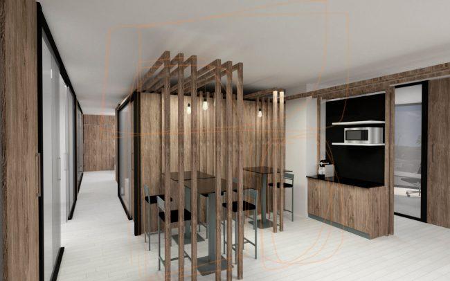 Reforma de local para oficinas en Gijón Dolmen Arquitectos