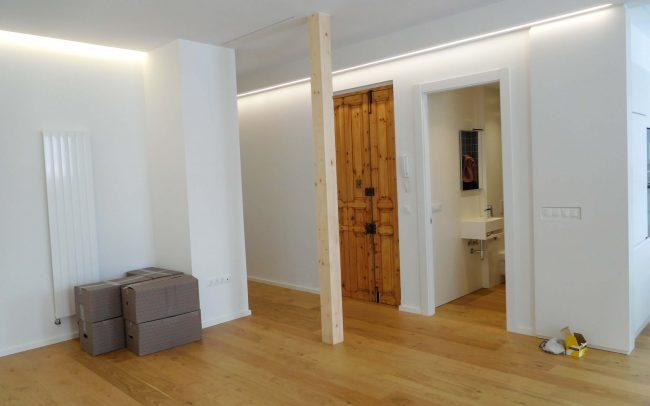 Reforma de piso en Gijón Dolmen Arquitectos