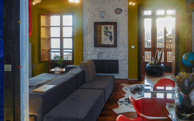 Reforma de piso en Gijón calle San Bernardo proyecto de Dolmen Arquitectos