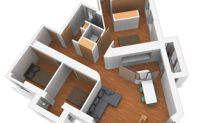 Reforma de piso en Gijon calle Instituto