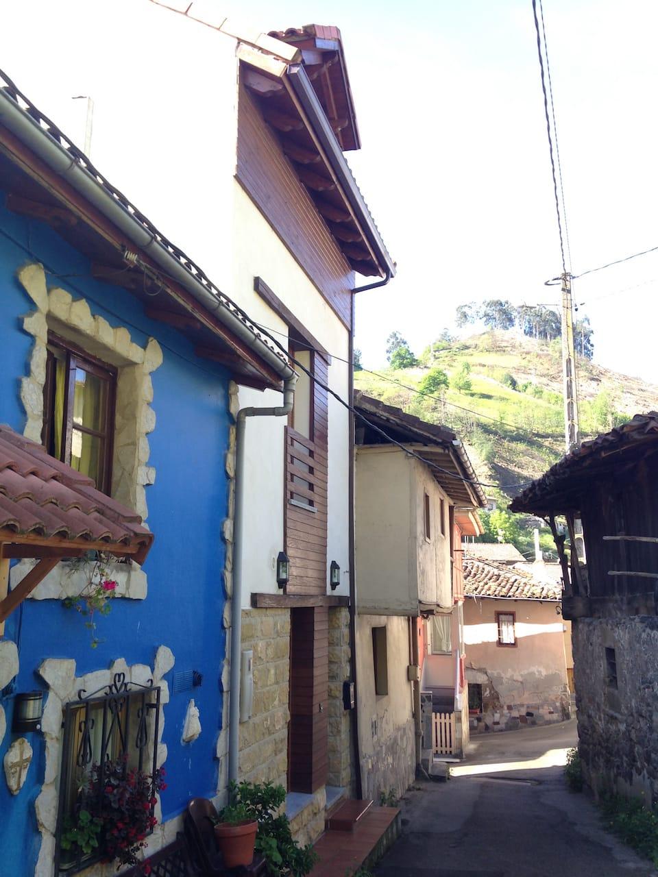Reforma de una casa tradicional en Mieres Asturias
