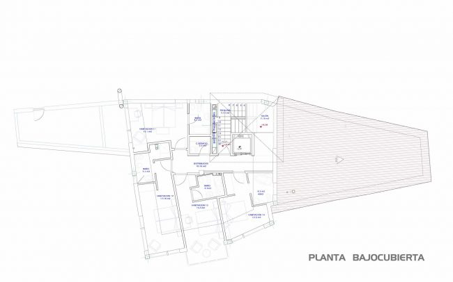 Reforma hotel en Belmonte de Miranda Asturias