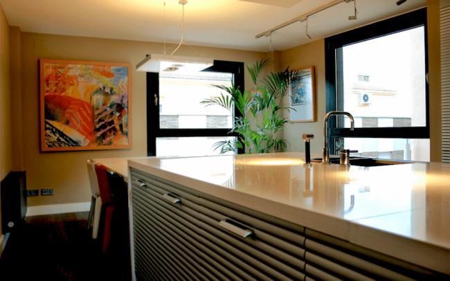 Reforma interior de duplex en Zamora cocina