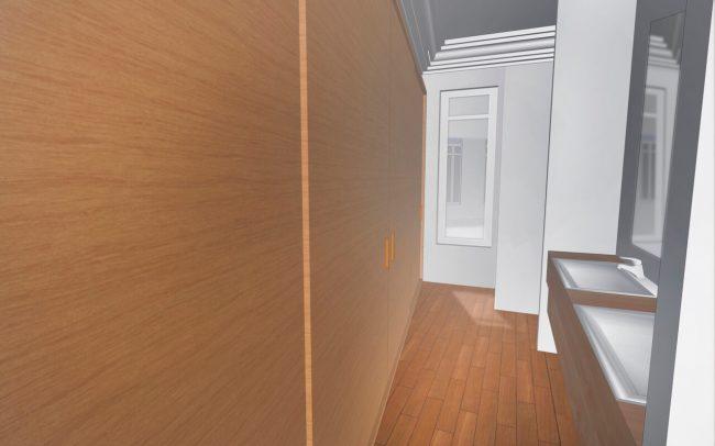 Reforma interior de vivienda en Asturias Gijón interiorismo Dolmen Arquitectos
