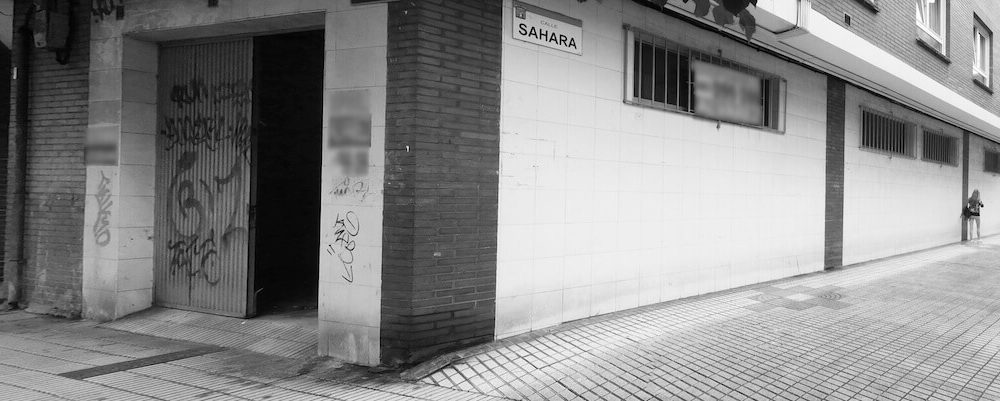 Reforma local Asturias centro de formación en Gijón proyecto de Dolmen Arquitectos planta estado actual exterior