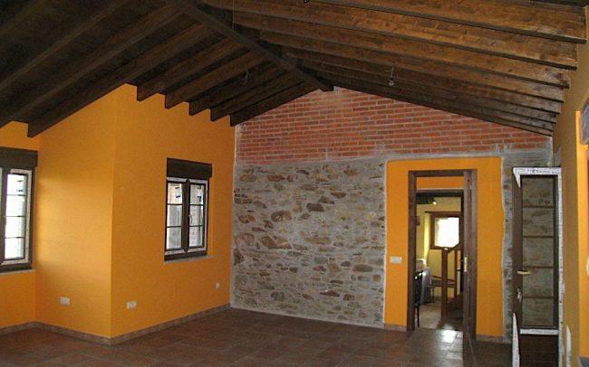Reforma y ampliación de vivienda en La Tabla Cudillero Asturias