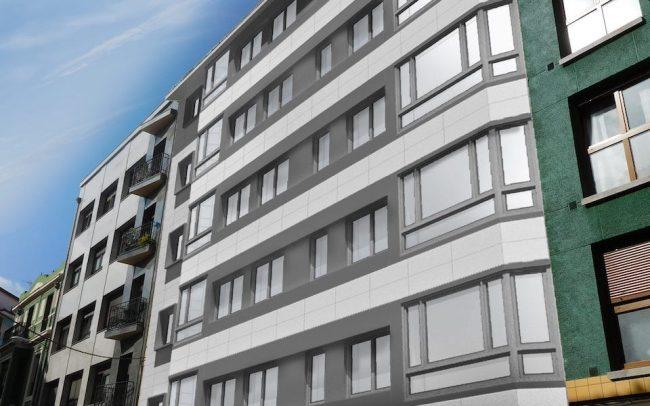 Rehabilitaci n de fachadas en gij n dolmen arquitectos - Arquitectos gijon ...