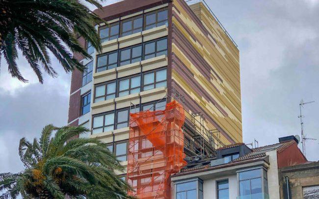 Rehabilitación de fachadas en Asturias Gijón un proyecto de Dolmen Arquitectos