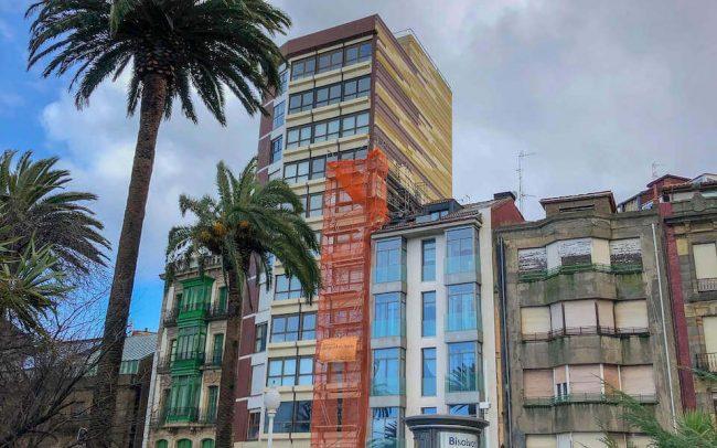 Rehabilitación de fachadas en Gijón un proyecto de Dolmen Arquitectos