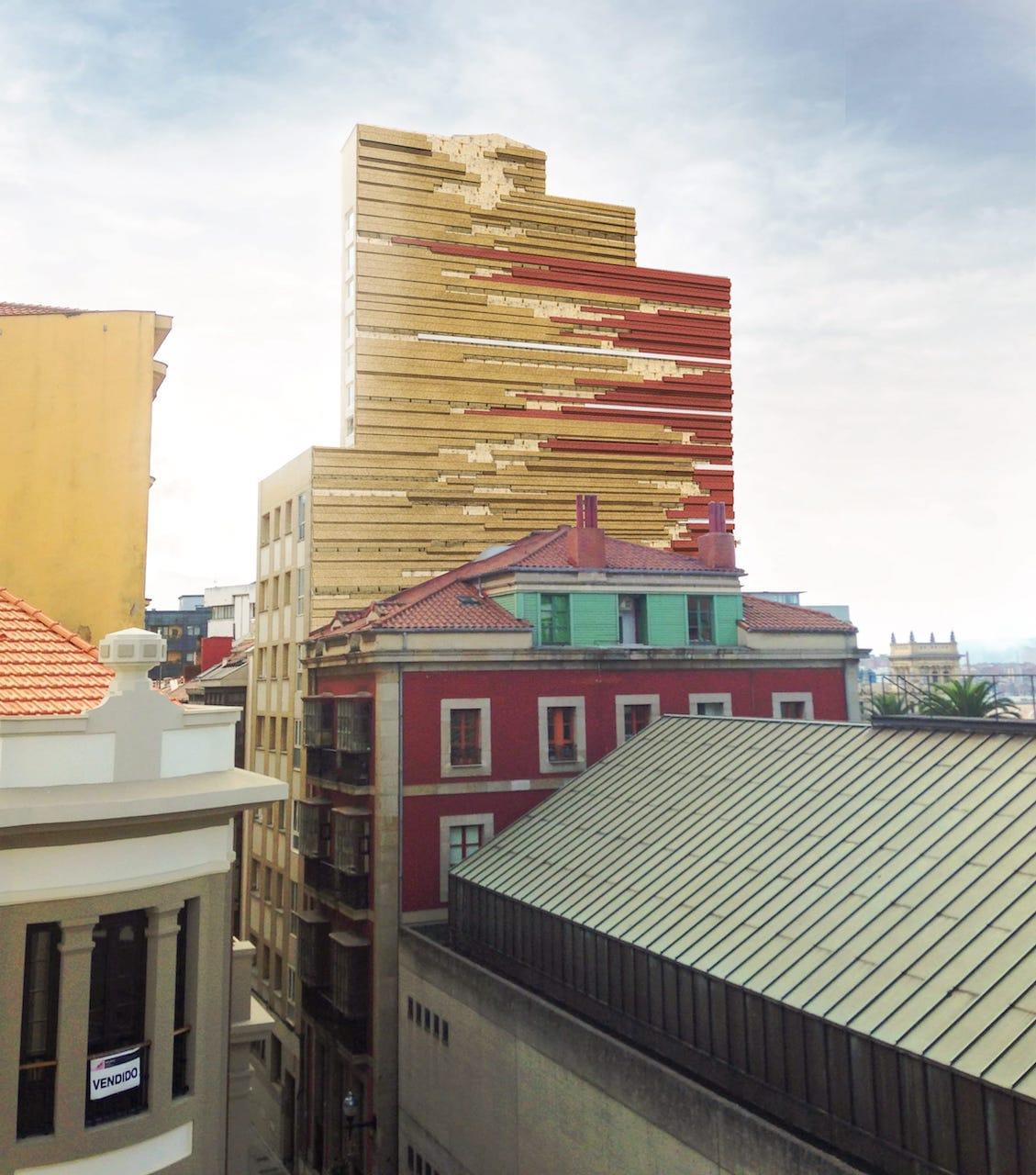 Rehabilitaci n de fachadas medianeras y terrazas en gij n - Arquitectos gijon ...