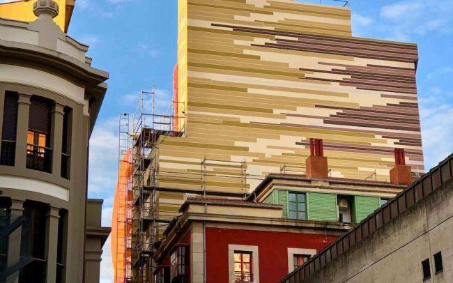 Rehabilitación de fachadas y aislamiento en Gijón San Melchor de Quirós
