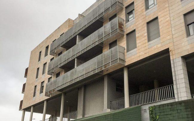 Rehabilitación de fachadas Asturias Molín de la Coria Gijón proyecto de Dolmen Arquitectos