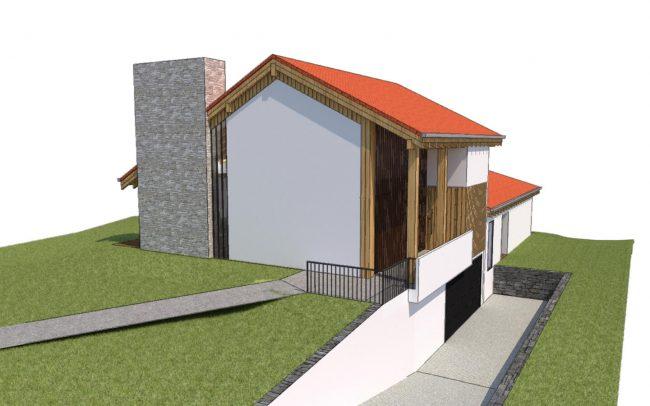 Vivienda unifamiliar en La Tejera Carreño Dolmen Arquitectos Asturias