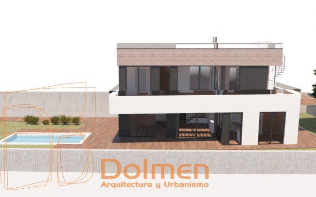 Vivienda unifamiliar en Somió Gijón Dolmen Arquitectos Asturias