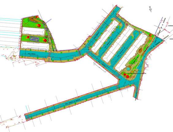 Urbanizacion del barrio de Bustillo en Llanes Asturias