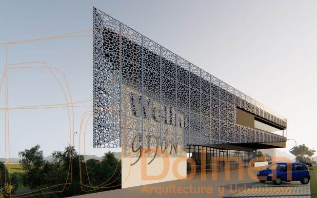 Centro Wellness Gijón proyecto de Dolmen Arquitectos