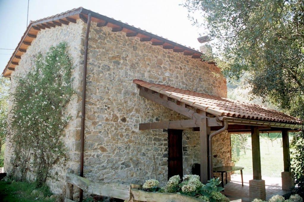 Chalé con porche en La Madrera Asturias