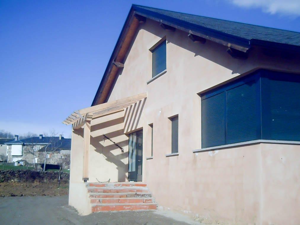 Chalé en Cobreros Zamora por Dolmen Arquitectos