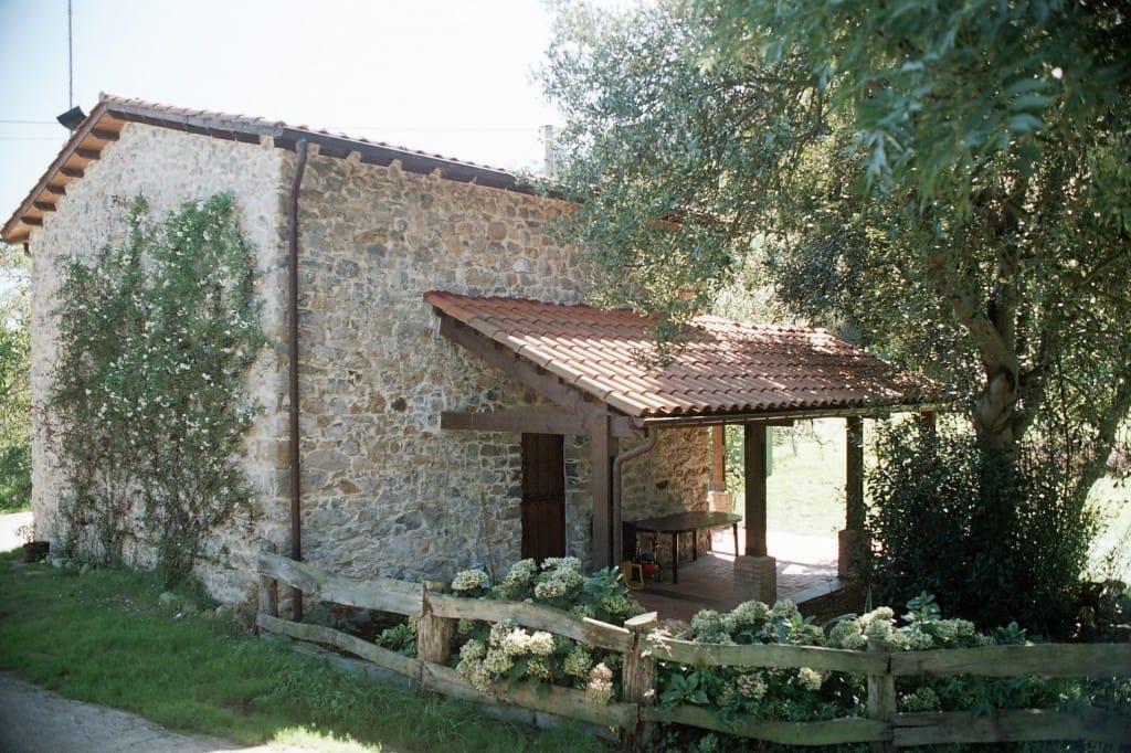 Chalé porche en La Madrera Asturias