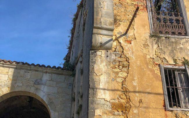 Conservación y consolidación de los restos de la Torre de Noriega Asturias dirección de obra Dolmen Arquitectos