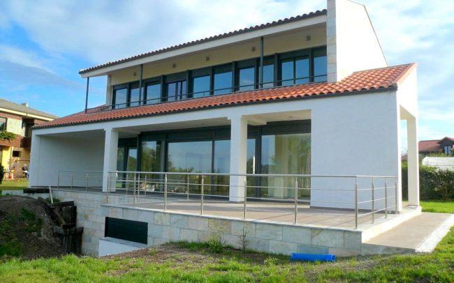 Construccion de chale en Villaviciosa Asturias