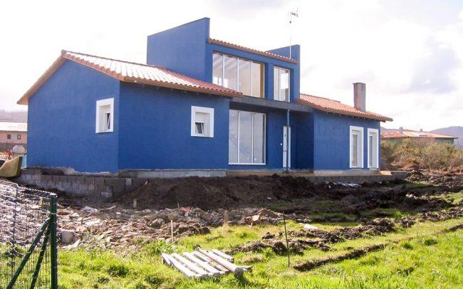 Construcción de un chalé independiente en Novellana en Asturias