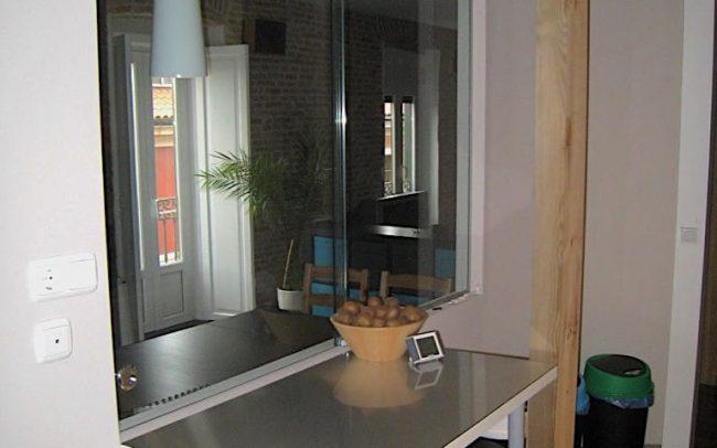 Despacho en piso reformado por arquitecto Gijón Dolmen