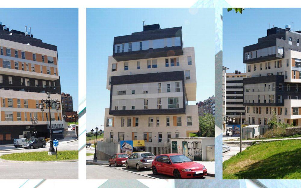 Edificio en Oviedo proyecto de Dolmen Arquitectos