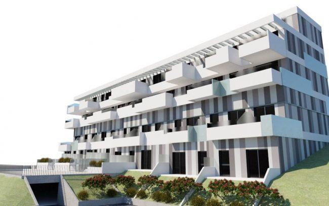 Edificio de viviendas en Gijón Dolmen Arquitectos Asturias