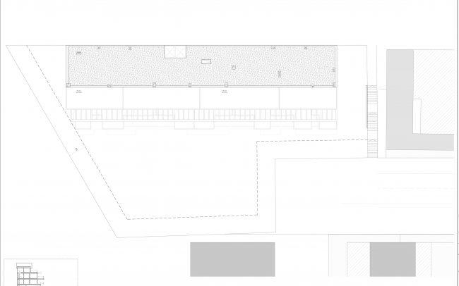 Edificio de viviendas en Gijón Dolmen Arquitectos Asturias planta cubiertas