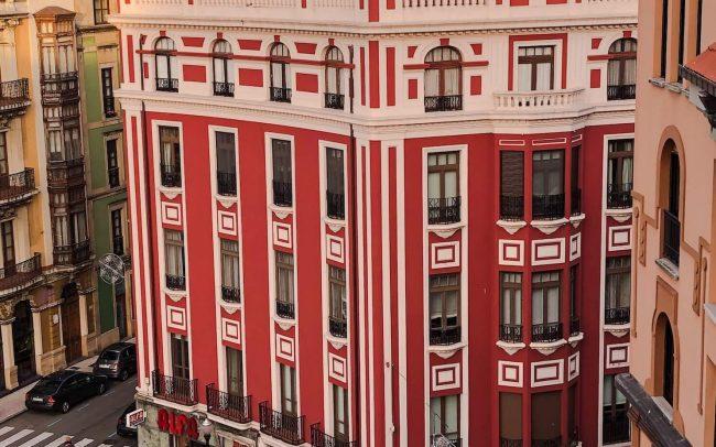 Edificio modernista en Plazuela de Gijón reforma de Dolmen Arquitectos